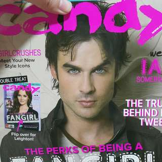 Candy magazine Ian Somerhalder