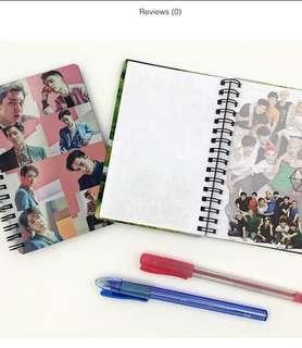 Exo notepad/notebook