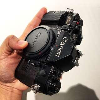Canon A-1 body black
