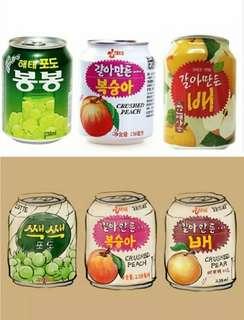 🚚 🇰🇷韓國🇰🇷Haiti Paleo Lotte 果粒果汁😍😍  葡萄汁/水梨汁/水蜜桃汁