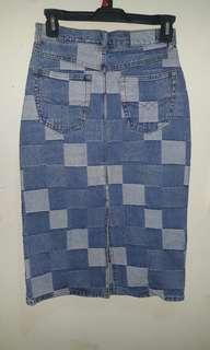 Jeans Skirt 3/4