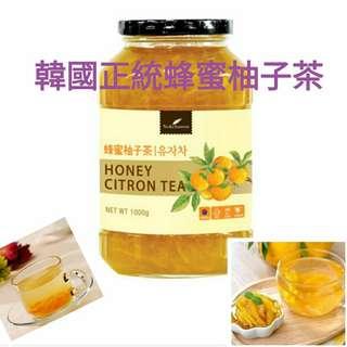 🚚 🇰🇷韓國🇰🇷原裝進口💮蜂蜜柚子茶💮 1kg大罐裝