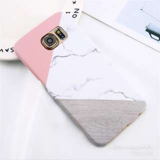PO: GEOMETRIC MARBLE PRINT SAMSUNG COVER
