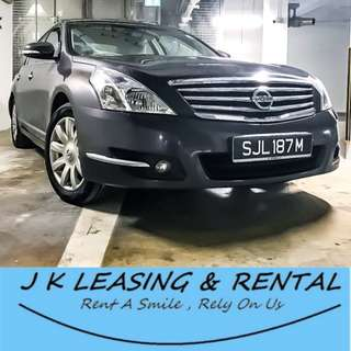 *FIRE RENTAL PROMO* NISSAN TEANA GRAB RYDEX UBER RENT RENTAL PROMO CHEAP CHEAPEST SEDAN LUXURY