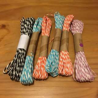 Colored Crafting Twine String