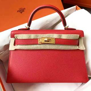 ✨Brand new 🐴Hermes Mini Kelly ll 🍅全新現貨✨