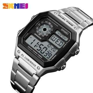 Jam tangan pria skmei 1335 original