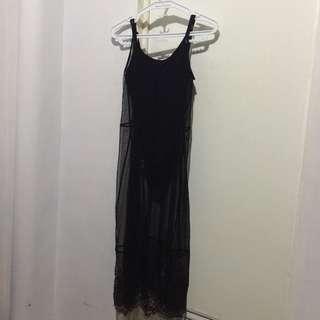 H&M Coachella Dress with Bodysuit