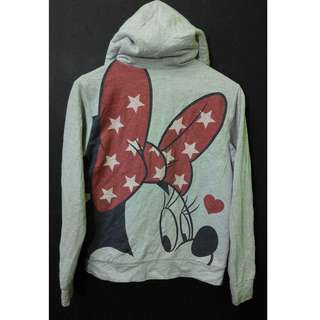 MINNIE MOUSE Hoodie Fleece Jacket Rare Sweatshirt Japan