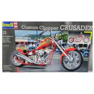 Revell 1:12 custom chopper - Crusader, motorbike model