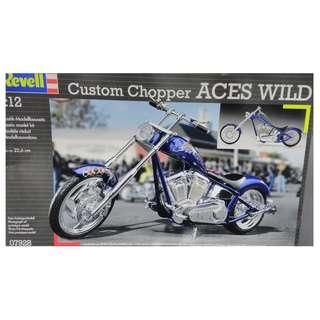 Revell 1:12 Custom chopper - Aces Wild 電單車