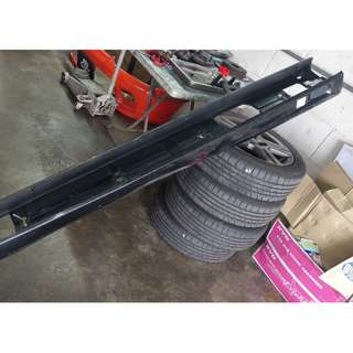 Daihatsu Move L9 RS side skirt - black
