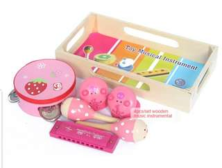 Wooden Toy Musical Set