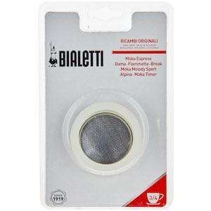 Bialetti replacement gaskets and filter