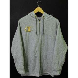 Champion Hoodie Fleece Jacket Size L