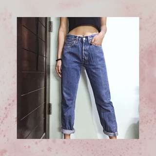 Thrifted Levi's – Highwaist Pants