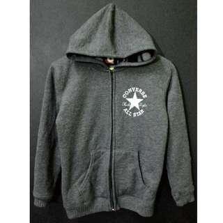 Converse All Star Hoodie Chuck Taylor Fleece Jacket Size M