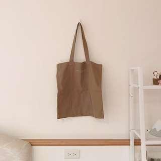 韓國品牌Aland 簡約字母帆布包(橄欖綠)