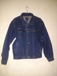 Jaket Denim Jeans Merek GAP Original