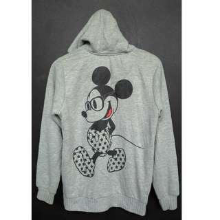 MICKEY MOUSE Hoodie Fleece Jacket Rare Sweatshirt