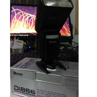 Nissin Digital Flash Di866 mk1 flash light (for Canon)
