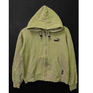 Puma Hoodie Khaki Color Size S