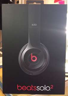 Beats Solo 2 On Ear headphone