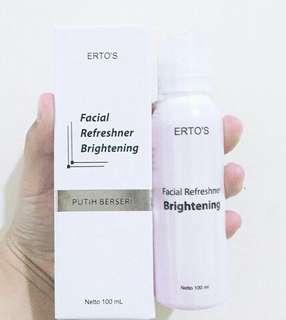 Facial brightening toner