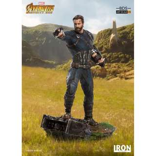 [EXTRA PO SLOTS AVAILABLE!] Iron Studios - 1:10 BDS Art Scale Statue - Avengers: Infinity War - Captain America