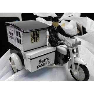 See's Candies motorbike, 電單車