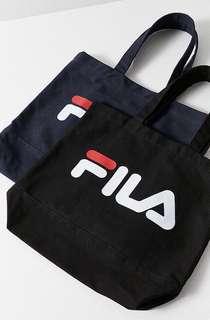 [代購] 韓國 Fila logo tote bag 帆布袋 布袋 多用途袋 兩用袋