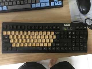 Aibo white alps mechanical keyboard