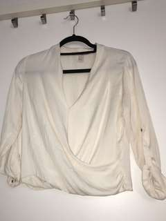 Off-White Blouse - Small - Forever 21