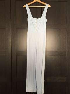 Glassons linen-blend jumpsuit - AU size 8