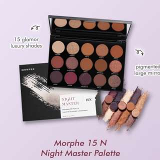 Morphe 15N night master palette