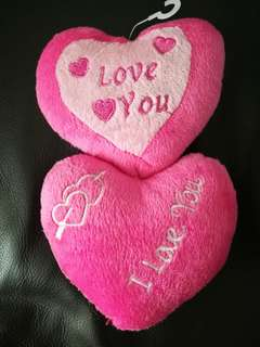 Squishy Toy with Two heart