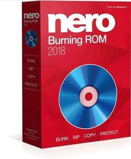 Nero Burning ROM Express 2018 - Lifetime License