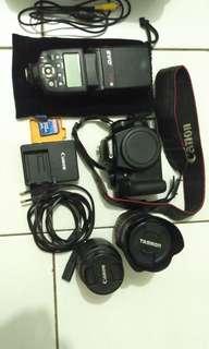 Camera dslr Canon 1000d Not Nikon Fuji Sony