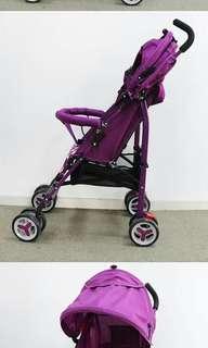 Folding stroller  pwd 3color red pink violet