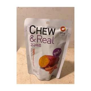 🚚 ❗️現貨❗️韓國Chew&Real 地瓜條