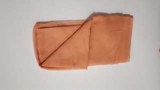 Jilbab paris orange