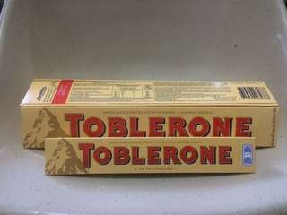 toblerone 200 grams and 100 grams