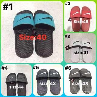 Nike slip on slippers