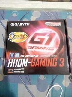 Intel Pentium G4560 + Gigabyte H110m