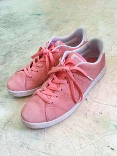 Authentic Adidas Neo Pink Peach Sneakers