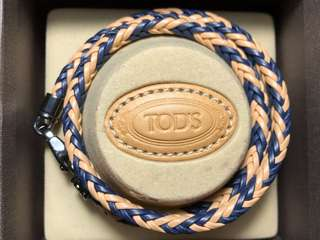 ORIGINAL BRAND NEW TOD'S LEATHER BRACELET MEN'S ALL SIZE