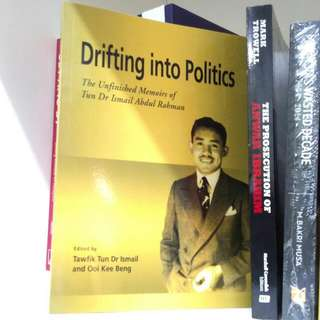 Drifting into Politics The Unfinished Memoirs of Tun Dr Ismail Abdul Rahman