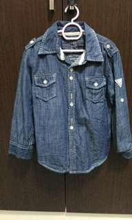 Guess jeans shirt 4y