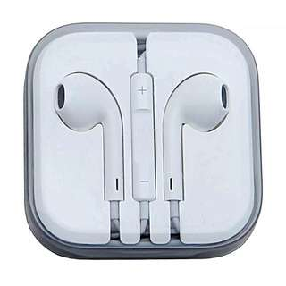 Stereo In-ear Earpods/Headset/Earphone (Compatible for Apple iPhone/iOS & Android Devices)