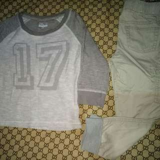 Take all!Take Cat & Jack gogger Pants and longsleeve Top( Size 4-5y/o)